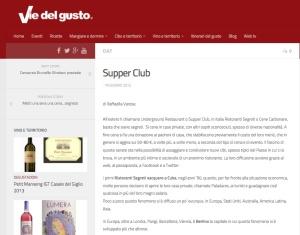 Vie del Gusto, 2012 - IT